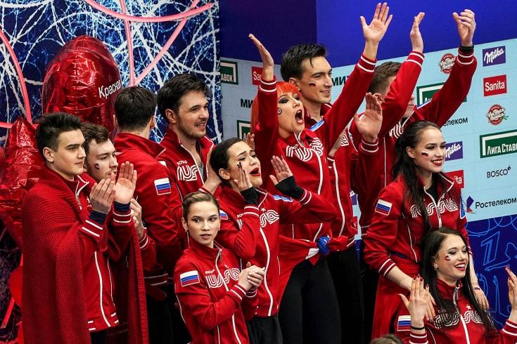 Команда Загитовой