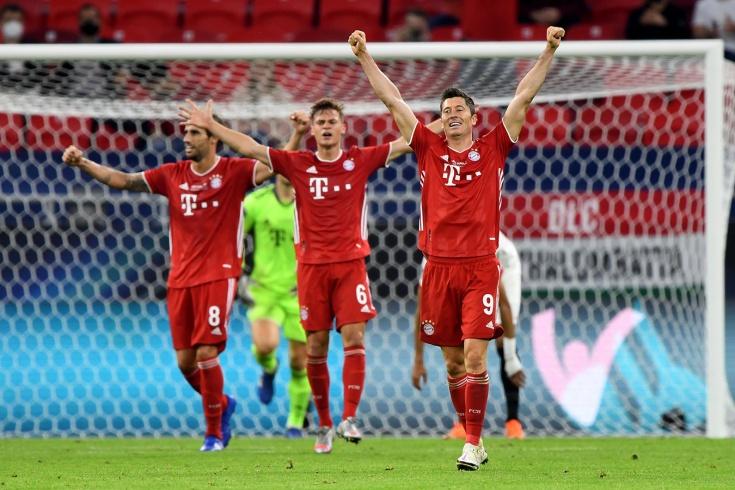 «Бавария» вытащила Суперкубок! Хотя «Севилья» была совсем рядом с сенсацией