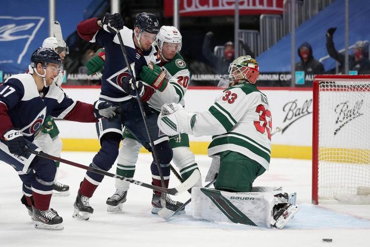 Колорадо — Миннесота — 2:1 – видео, голы, обзор матча регулярного чемпионата НХЛ 2021