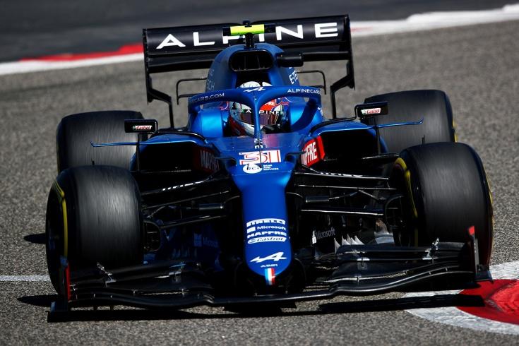 Новая машина «Альпин» Формулы-1