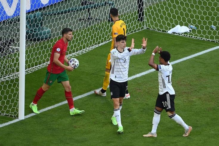 Немцы победили португальцев и запутали расклады в группе, где также играет Франция
