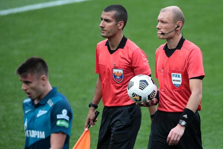 Почему отменили гол «Зениту» и удалили тренера Мусаева. Судья Федотов всё объяснил