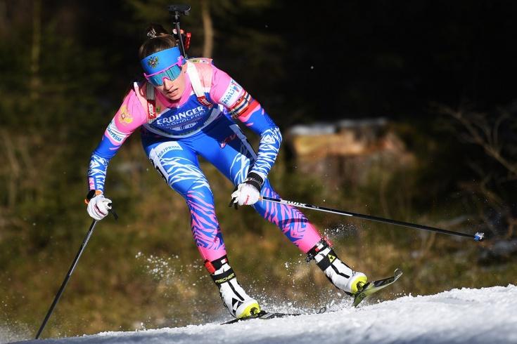 Биатлонистки сборной России не попали в топ-10