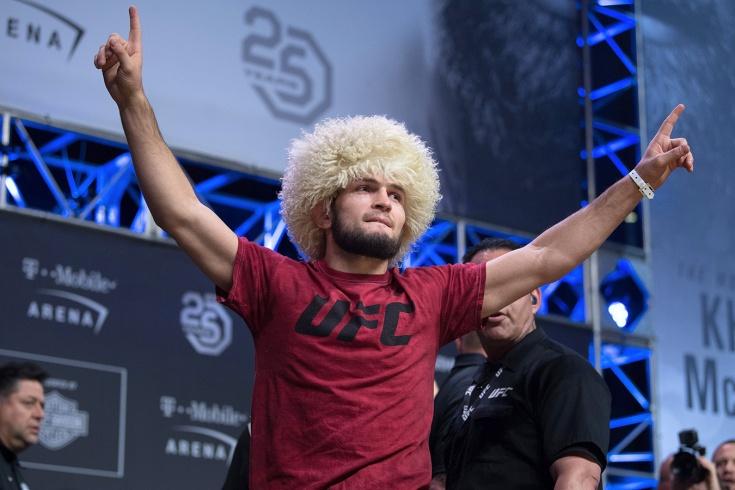 Хабиб – Гэтжи на UFC 254