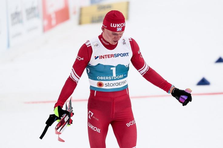 Большунов назвал причину неудачи в последней гонке сезона на Кубке мира 2020/21, где он стал шестым