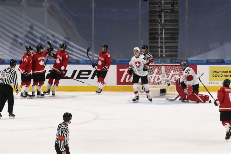 Полуфинал Канада – Россия