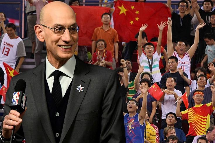 Адам Сильвер раскрыл последствия скандала НБА с Китаем, подробности
