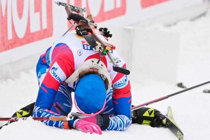 Реакция на провал сборной России по биатлону в смешанной эстафете на чемпионате мира 2021