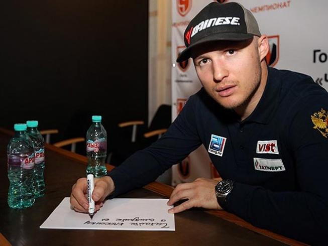 Александр Хорошилов в гостях у «Чемпионата»