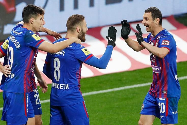 ЦСКА – «Арсенал» – 5:1