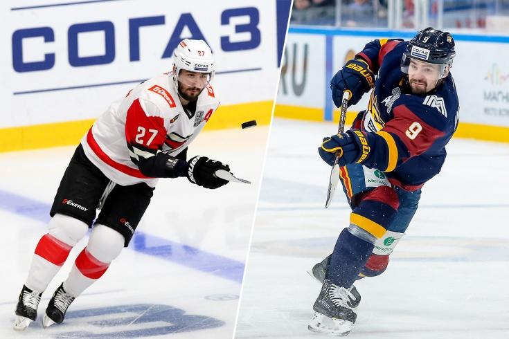 10 звёздных игроков, проваливших плей-офф КХЛ