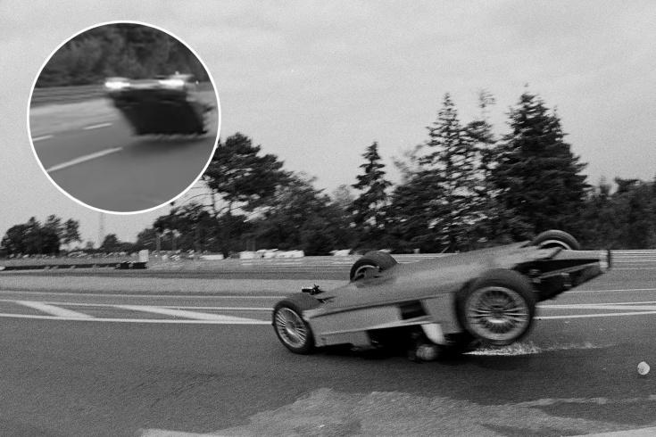 Опасные полёты «Мерседеса». Почему немецкие прототипы начали взлетать в воздух в Ле-Мане?