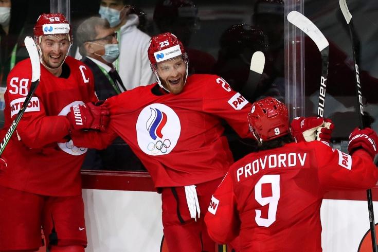 Видео победного гола Михаила Григоренко в матче Россия – Чехия на чемпионате мира 2021 года по хоккею