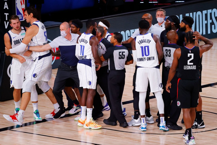 «Клипперс» обыграли «Даллас» в плей-офф НБА, Лука Дончич установил исторический рекорд