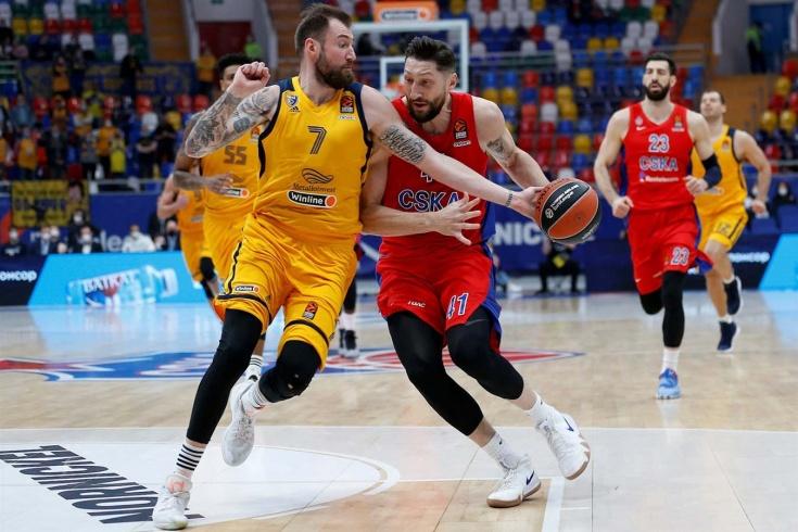 ЦСКА разгромил «Химки» и обеспечил себе преимущество домашней площадки в плей-офф Евролиги