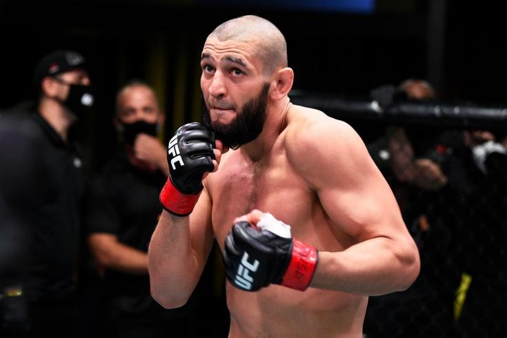 Хамзат Чимаев отказался от поединка с экс-чемпионом UFC Люком Рокхолдом