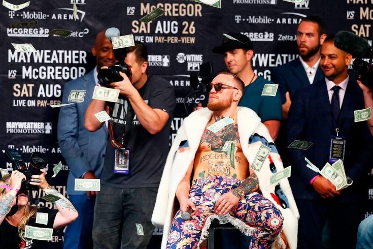 Где Конор — там сумасшедшая касса! Топ-5 самых дорогих боёв в истории UFC