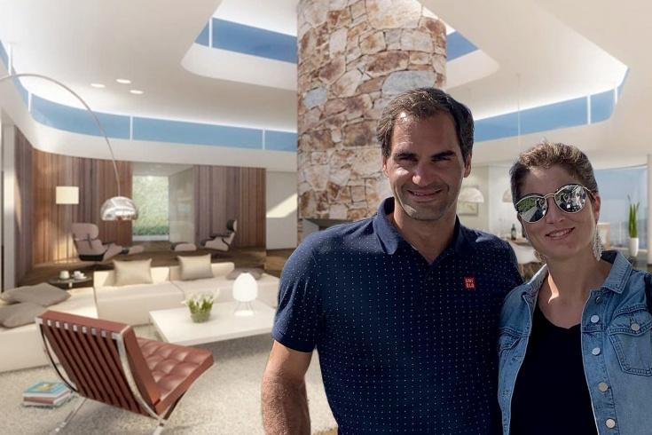 Как выглядит дом Роджера Федерера