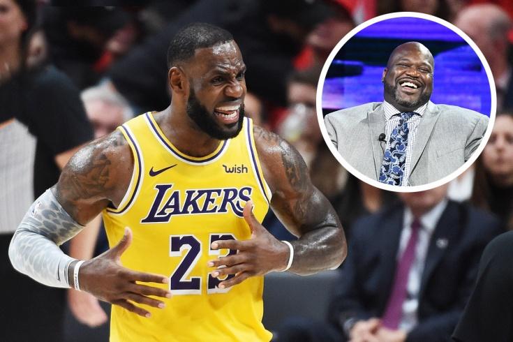 О'Нил стал главным баскетбольным троллем