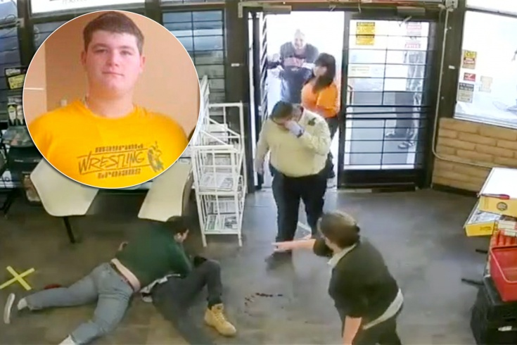 В США 16-летний подросток-борец предотвратил похищение трёх детей, видео