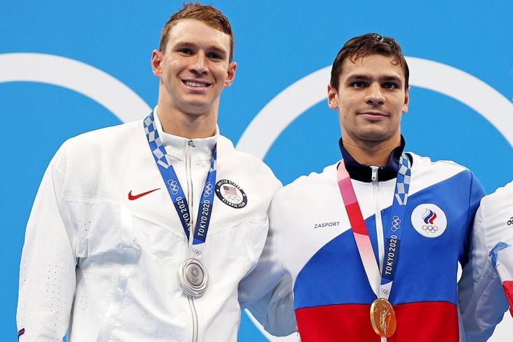 Арсен Карацев и Елена Веснина на Олимпиаде-2020