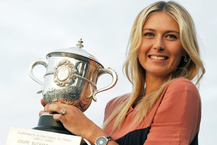 Мария Шарапова дважды выиграла «Ролан Гаррос»