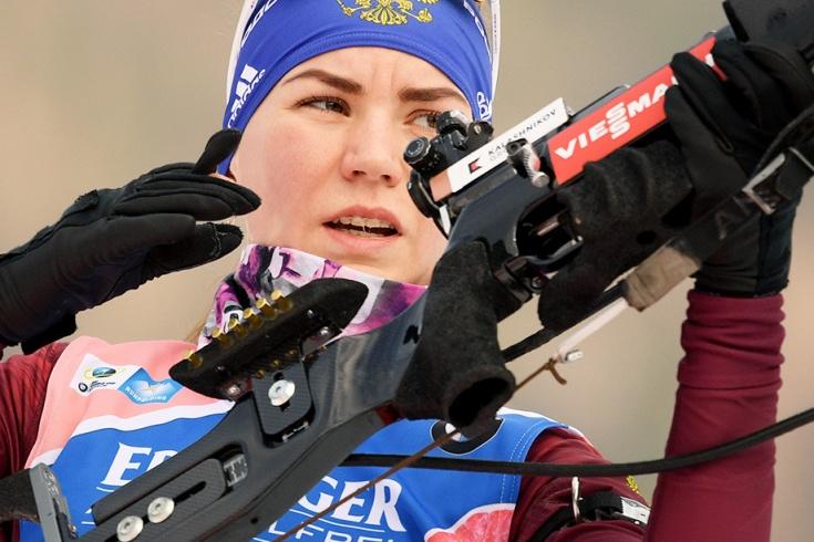 Виктория Сливко, сборная России — биатлон