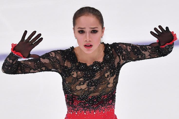 Как Алина Загитова одержала первую победу после Олимпиады – форс-мажор, 3 мировых рекорда