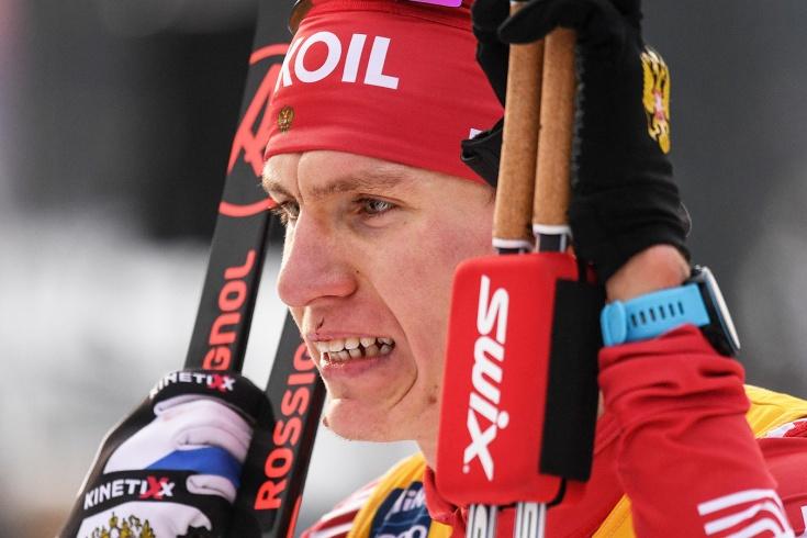 Большунов — о падении после столкновения с норвежц