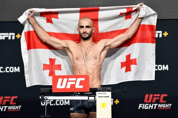 Грузинские бойцы в UFC – Чикадзе, Двалишвили, Топурия, Долидзе и Кутателадзе
