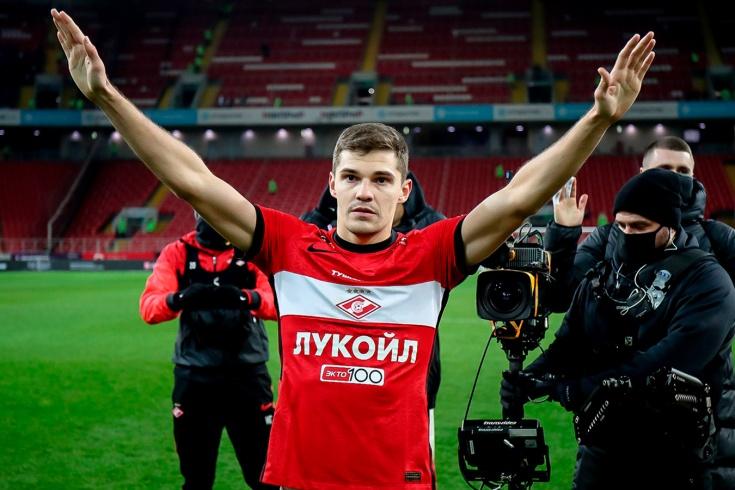 «Спартак» – «Динамо» – 1:1, Роман Зобнин – главный герой матча РПЛ