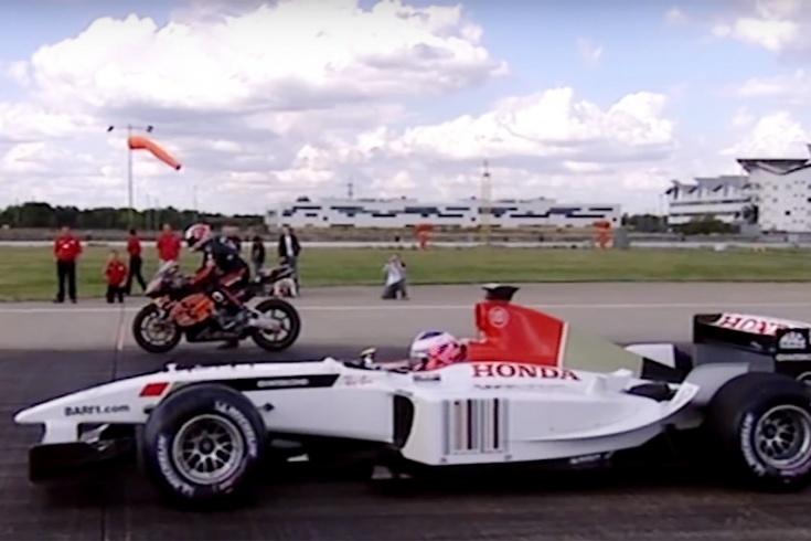 Формула-1 против Супербайка и гоночной лодки