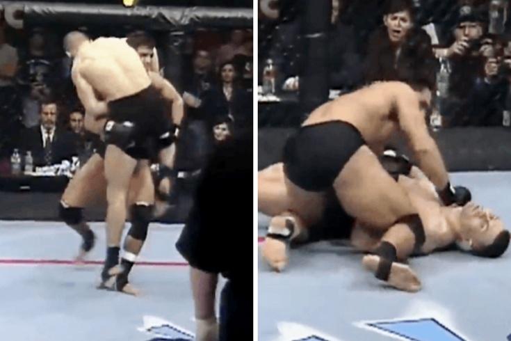 Игорь Зиновьев – один из первых российских бойцов UFC, видео боя с Шемроком