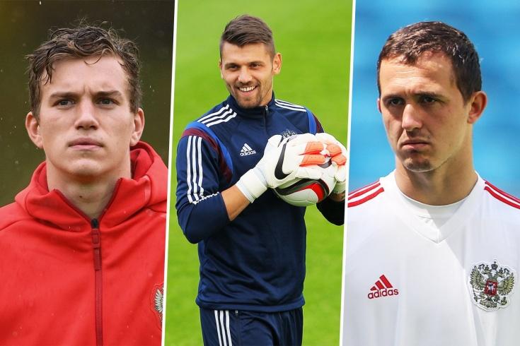 Российские футбольные вратари в Европе