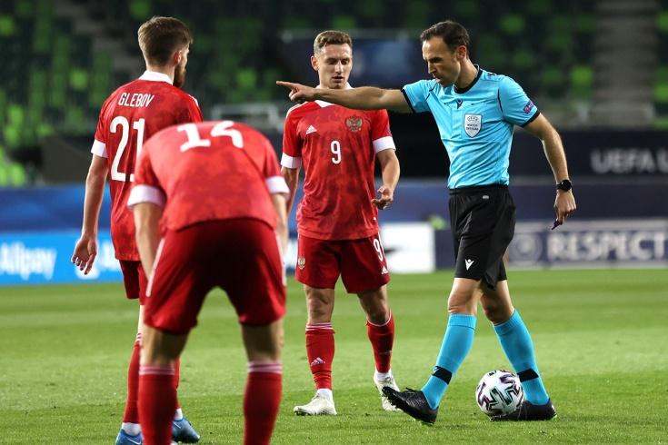 Россия – Франция — 0:2, разбор двух пенальти с арбитром Игорем Федотовым, молодёжный Евро-2021