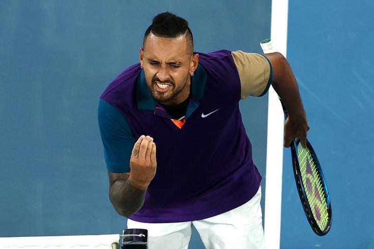 Australian Open – 2021, пятисетовый триллер Ника Кирьоса и Доминика Тима, зрители ушли на локдаун