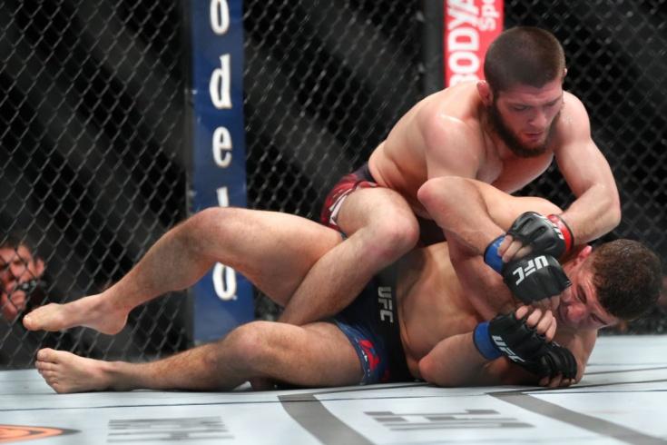 Худшие и самые бесполезные титульные бои в UFC, Бенавидез, Хабиб Нурмагомедов