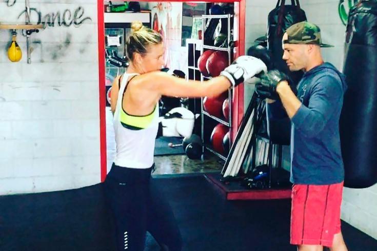 Как Шарапова и другие звёзды тенниса меняют ракетки на боксёрские перчатки