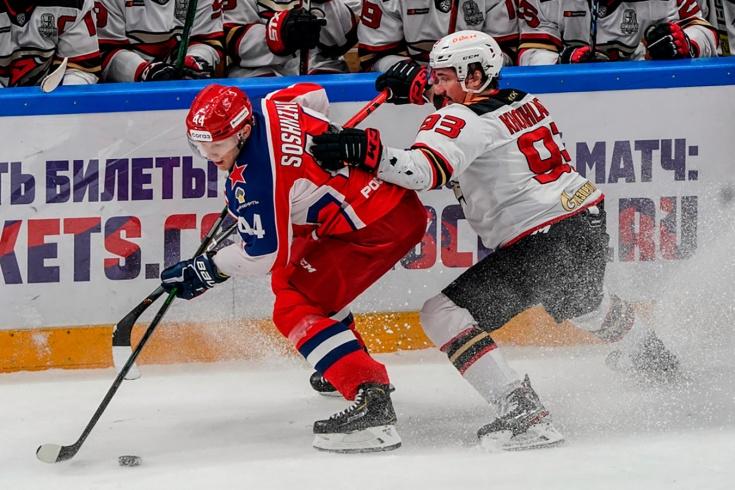 «Авангард» обыграл ЦСКА в пятом матче финала Кубка Гагарина, что происходит в КХЛ