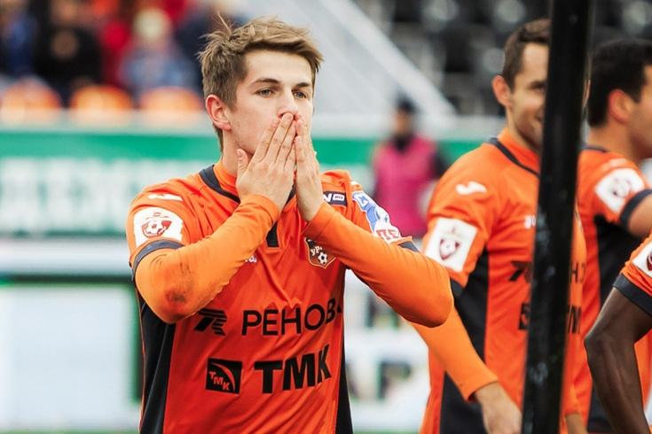 Алексей Евсеев вышел на замену и забил через полминуты, обзор матча «Урал» — «Сочи»