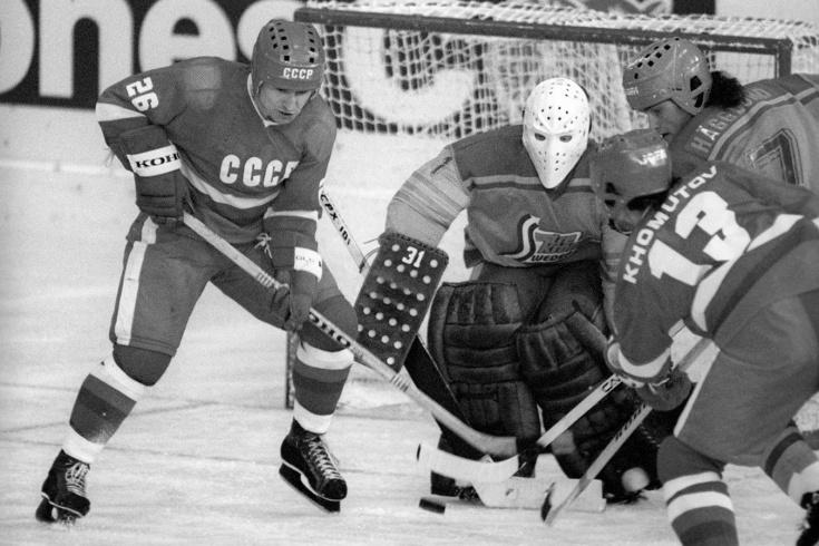 Как звёзды СССР громили финнов на их льду. Но один раз великий Третьяк всё же пропустил