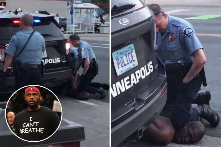 В США полицейский задушил чернокожего, реакция спортсменов