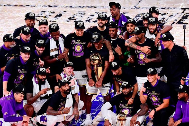 Леброн Джеймс выиграл титул для «Лос-Анджелес Лейкерс» и стал MVP серии с «Майами Хит»