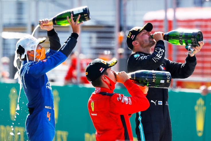 Оценки за Гран-при Австрии Формулы-1
