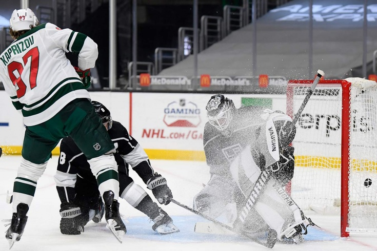 Лос-Анджелес — Миннесота — 2:4 – видео, голы, обзор матча регулярного чемпионата НХЛ 2021
