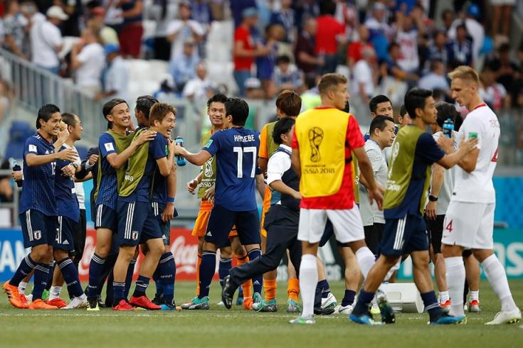 Япония проиграла Польше, но остались на ЧМ-2018