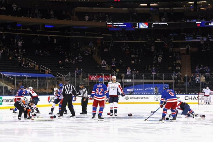 «Рейнджерс» — «Вашингтон» — 2:4, видео, голы, драки, обзор матча регулярного чемпионата НХЛ