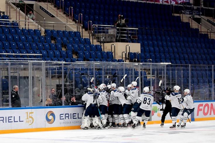 В плей-офф КХЛ будут играть матчи без зрителей