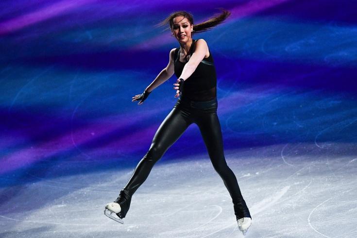 Загитова выложила ускоренное видео домашней тренир
