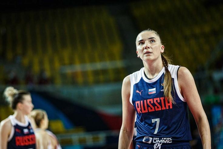 Женская сборная России обыграла Хорватию и вышла в плей-офф Евробаскета